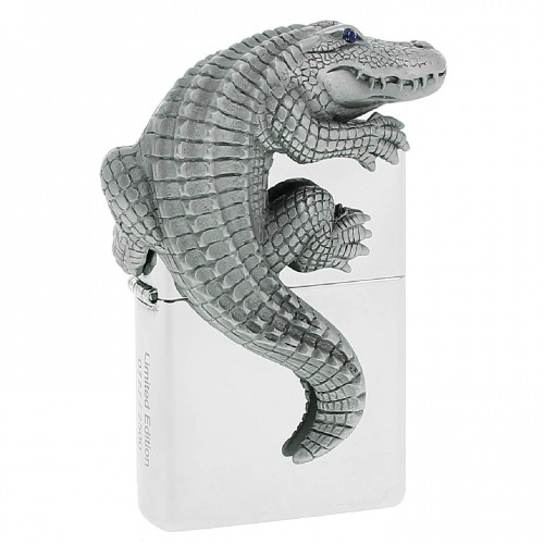فندک زیپو CROCODILE 3D