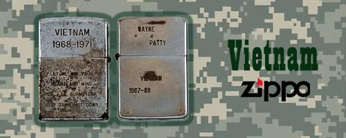 فندکهای زیپو در جنگ ویتنام