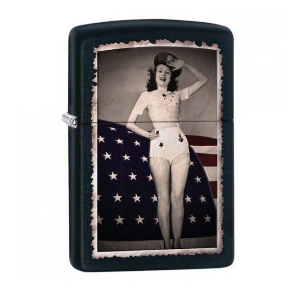 28533 Zippo-Zippo Flag Woman