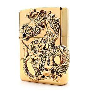 فندک زیپو طلایی Zippo Golden Dragon