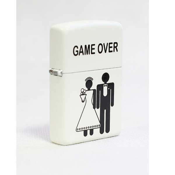 فندک زیپو کد 214 Game over