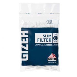 فیلتر زغالی سیگار گیزه 6 میلیمتری