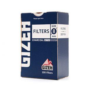 فیلتر زغالی سیگار گیزه 8 میلیمتری