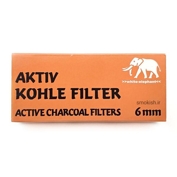 فیلتر ۶ میلیمتری چوب سیگار و پیپ وایت الفنت