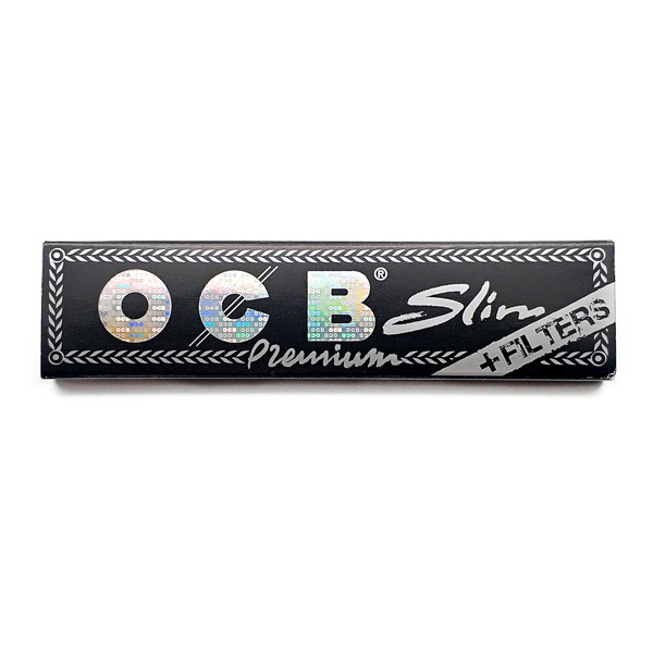 کاغذ سیگار بلند OCB مشکی با فیلتر کاغذی