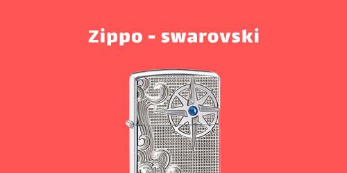 فندک زیپو سوآروفسکی