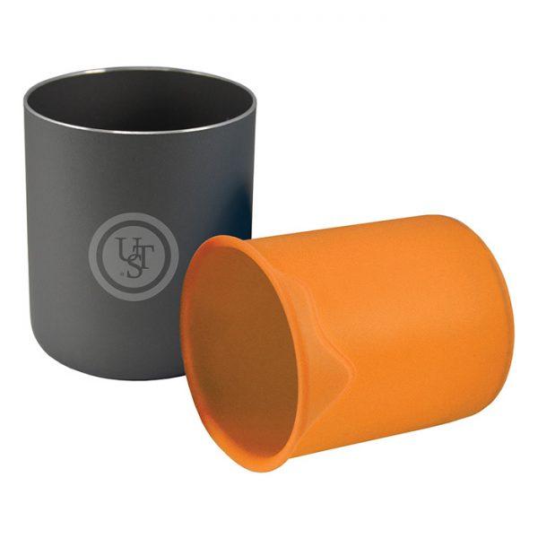 لیوان کمپینگ یو اس تی Double Up Cup Orange
