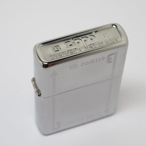 Zippo Lighter Model No:24383 BOTTOMZ UP